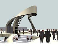 Tarbiat Moddaress Entrance Gateway